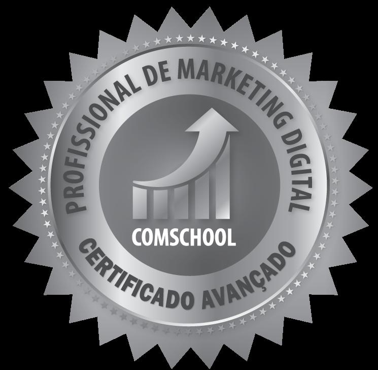Selo Profissional de Marketing Digital Certificado Avançado
